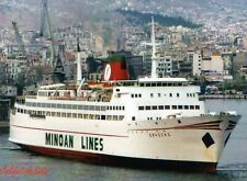 Minoan Lines KNOSSOS in Piraeus 1990