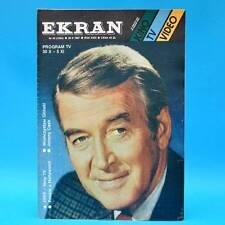 EKRAN 1534 | 30.10.-05.11.1987 | VR Polen FF Dabei | James Stewart Johnny Cash