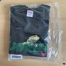 Supreme Lizard Tee T Shirt Black - Medium