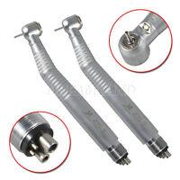 2* Fibra ottica dentale LED E-generatore ad alta velocità manipolo Turbina 4Hole