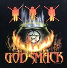 Vintage Godsmack Smack Concert Tour 2001 T-Shirt Mens Size XL Double Sided