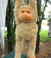 "✅ Vintage Fiesta Hanging Monkey Charlie Lovey Pull Arm 32"" Plush Stuffed Animal"