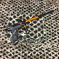 *USED* Dangerous Power DP Rev-i Electronic Paintball Gun - Orange/Black