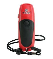 Fox 40 Electronic Whistle! Hand Operated Whistle, safe for multiple users