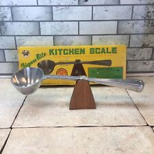 Vintage Cast Iron Balancing Ladle Weighing Scale Kitchen Measuring Made In Japan
