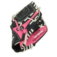 Rawlings PL85PB Baseball Glove Players Series Youth Kids Girls Pink/Black 8.5""