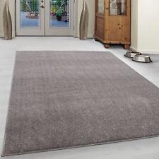 Gabbeh Look short Pile Carpet Living Room Carpet Plain Robust Beige Mottled