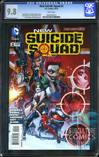 NEW SUICIDE SQUAD #2 - CGC 9.8 - SOLD OUT - FIRST PRINT - HOT MOVIE