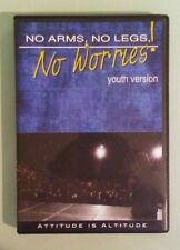 nick vujicic  NO ARMS NO LEGS NO WORRIES  ! youth version  DVD 2 disc set