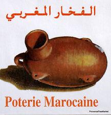 POTERIE MAROCAINE MAROC MOROCCO ENVELOPPE PREMIER JOUR FDC MA838