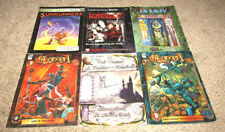 LOT OF 6 ROLE PLAYING BOOKLET D20 SYSTEM TARGET GAMES CHRONOPIA WORLD OF DARKNES