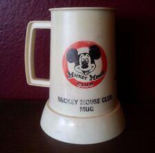 RARE  MICKEY MOUSE CLUB MUG 1955 BELONGED TO MOUSEKETEER SUZIE ANNE! DISNEYLAND