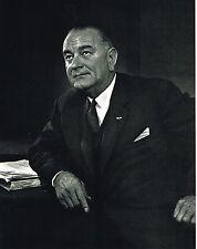 1960s Vintage Lyndon Johnson Portrait Yousuf Karsh Photogravure Photo Print
