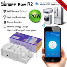 Sonoff POW R2 WiFi interrupteur en temps réel pouvoir, en cours et de tension, la consommation mesur
