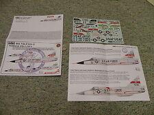 Draw decals 1/72 Set 72s-F102-2 Northwest ANG F-102   H56