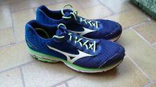 scarpe da corsa per uomo, mizuno, wave inspire, taglia 50, blu