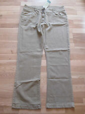 cotton traders tan brown bootcut jeans size 16 leg 29 brand new with tags