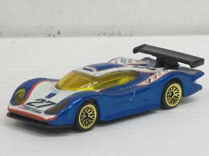 Porsche 911 GT1-98 in blaumetallic Nr.27, ohne OVP, Hot Wheels, ca. 1:64