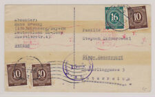 All. bes./notifi. alin. mié. 918 (3), 923 2 nuremberg (apt) 17.7.47 - Viena, trenes de 2x