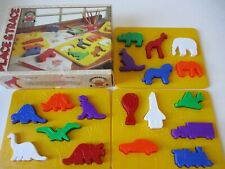 Discovery Toys Place & Trace Puzzles Preschool Daycare Toy
