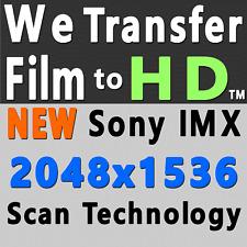8mm 16mm Super8 Movie Film Reel Transfer 1080p High Definition Scanning SERVICE