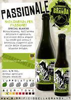 12 botellas Cerveza Blanca White Passionale fábrica de Granda Special 33