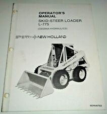 New Holland L 775 Skid Steer Loader Operators Owners Manual Oem Nh 787