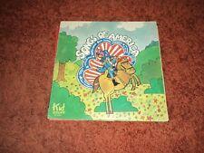 Songs Of America Kid Stuff Records - RARE US pressing -  VG / VG