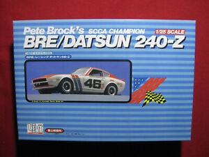 BRE/Datsun 240-Z Pete Brock John Morton SCCA Champion 1:25 Car Model Kit Rare