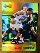 1998-99 BOWMANS BEST REFRACTOR Alonzo Mourning Serial #ED 107/400 Heat