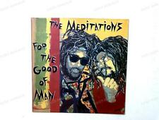 The Meditations - For The Good Of Man GER LP 1988 /3