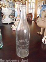 """Vintage Cherry Flip Bottling Works Scranton NJ glass bottle, 12"""" [10]"""