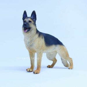 "1/6 Scale German Shepherd Dog Figurine For 12""in Action Figures Toy Soldier"
