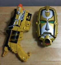 Power Rangers Megaforce Deluxe Gosei Morpher Card Reader and gun 2012 Bandai
