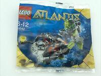 Lego Atlantis 30042 Mini Sub With Diver Mini Figure Polybag Set NEW