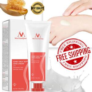 New Honey Milk Soft Hand Cream Lotions Serum Repair Nourishing Hand Skin Care