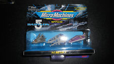 Micro Machines Babylon 5 Collection #6 with #5 ships factory ERROR sealed