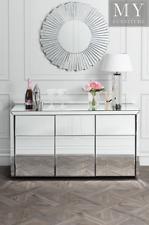 MONTE CARLO Mirrored Sideboard or Buffet - Mirror Furniture
