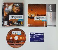 SingStar Pop Edition, Playstation 3, Pal-UK