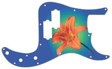 P Bass Precision Pickguard Custom Fender 13 Hole Guitar Pick Guard Flower