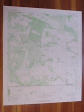 Laguna Del Toro Texas 1971 Original Vintage Usgs Topo Map
