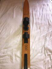 Vintage Maherajah Exotic Wood Pro 360 Water Ski (Very Rare) Nice Condition 65�