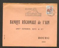 "BOURG-en-BRESSE (01) BANQUE ""BANQUE REGIONALE DE L'AIN"" en 1964"