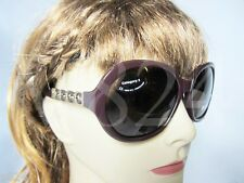 BALLY SUNGLASSES BY2004A03 BY 2004A - EGEPLANT BROWN / BROWN- BY2004A 03