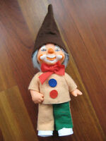 VINTAGE RUSSIAN SOVIET DOLL TOY USSR CLOWN