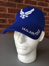 US Air Force Blue Hat 100% Cotton strapback