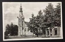 POSTCARD Grote Kerk APELDOORN Church Gelderland NETHERLANDS Real Photo 1526