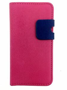 PINK Wallets skin style Case Cover with Card Slots for Apple iPhone 5/5S/SE UK