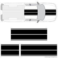 Dual Rally Racing Stripes 3M Vinyl Double Stripe Decals for Dodge Dakota