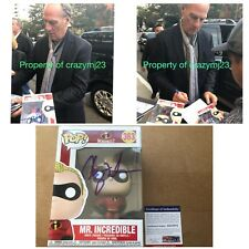 Craig T. Nelson Signed Incredibles 2 Funko Autograph Mr. Incredible PSA COA Auto